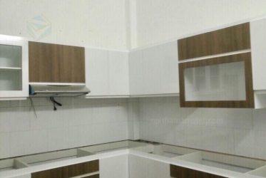 Thi công tủ bếp Melamine cho nhà anh Trung ở Tân Phú