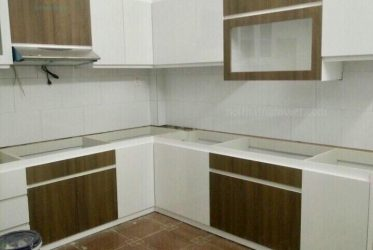 Tủ bếp melamine giá rẻ TBMM-004