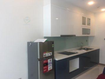 Thiết kế tủ bếp gỗ công nghiệp Acrylic hiện đại AC-2068