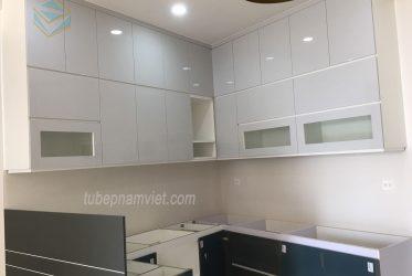 Thiết kế thi công tủ bếp gỗ Acrylic giá tốt tại TPHCM