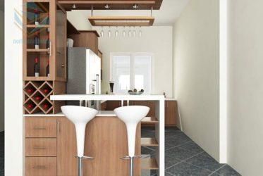 Thiết kế thi công tủ bếp chung cư