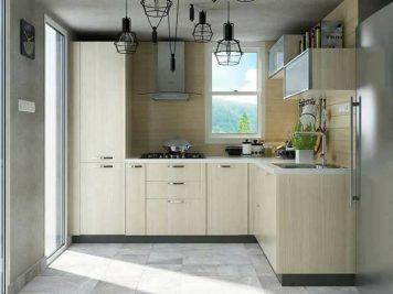 Những thiết kế tủ bếp gỗ công nghiệp nhỏ gọn dễ ứng dụng