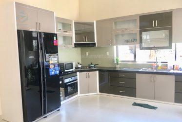 Thiết kế gian bếp tủ lạnh theo phong thủy chủ nhà đón lộc