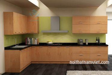 Tủ bếp gỗ Laminate LM-1014