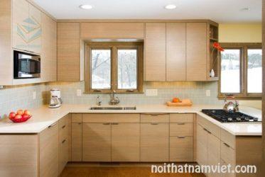 Tủ bếp gỗ Laminate LM-1016