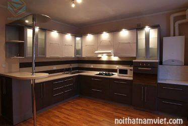 Tủ bếp gỗ Laminate LM-1019