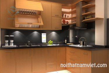 Tủ bếp gỗ Laminate LM-1026