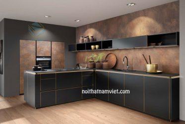 Tủ bếp gỗ Laminate LM-1060