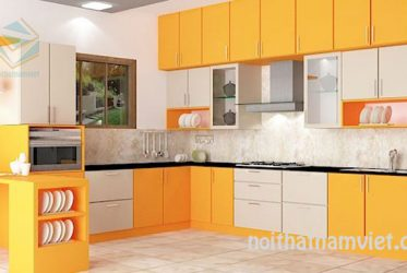 Tủ bếp gỗ Laminate LM-1063