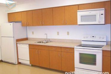 Tủ bếp thùng picomat cánh Acrylic AC-2053