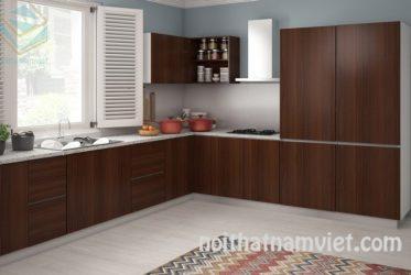 Tủ bếp gỗ Laminate LM-1024