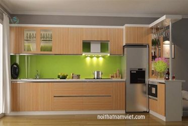 Tủ bếp gỗ Laminate LM-1039