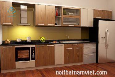 Tủ bếp gỗ Laminate LM-1041
