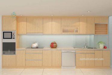 Tủ bếp gỗ MDF phủ Melamine MM-0007
