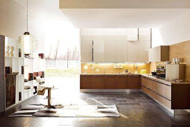 Tủ bếp gỗ Laminate LM-1046