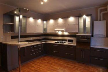 Tủ bếp gỗ Laminate LM-1047
