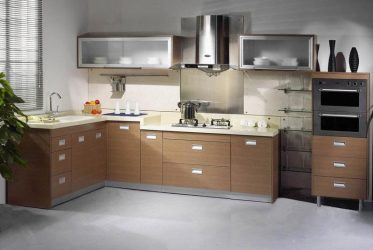 Tủ bếp gỗ Laminate LM-1049