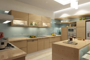 Tủ bếp gỗ Laminate LM-1054