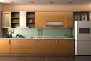 Tủ bếp gỗ Laminate LM-1055