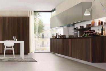 Tủ bếp gỗ Laminate LM-1056