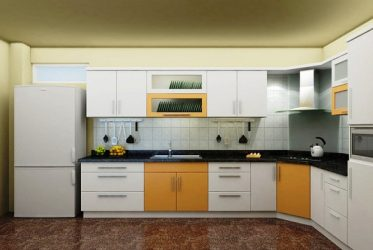 Tủ bếp gỗ Laminate LM-1059