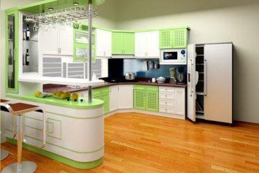 Tủ bếp gỗ Laminate LM-1062