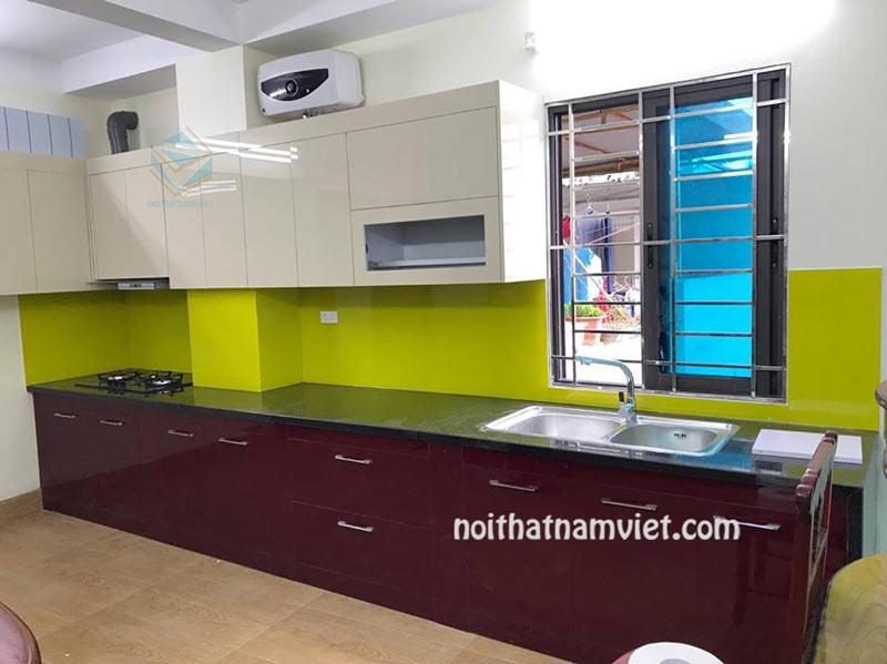 Tủ bếp gỗ acrylic AC-2090