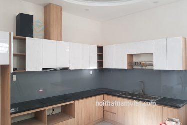 Tủ bếp gỗ Acrylic An Cường giá tốt nhất tại TpHCM AC-2100
