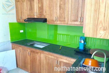 Tủ bếp gỗ ASH tự nhiên AS-2002
