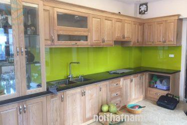 Tủ bếp gỗ ASH tự nhiên AS-2004