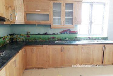 Tủ bếp gỗ ASH tự nhiên AS-2012