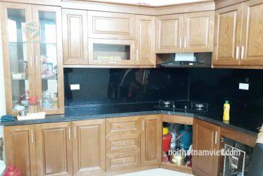 Tủ bếp gỗ ASH tự nhiên AS-2009