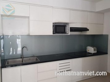 tủ bếp MDF phủ Melamine MM-0018