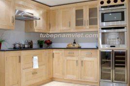 Kệ bếp gỗ tự nhiên Tần Bì AS-2012