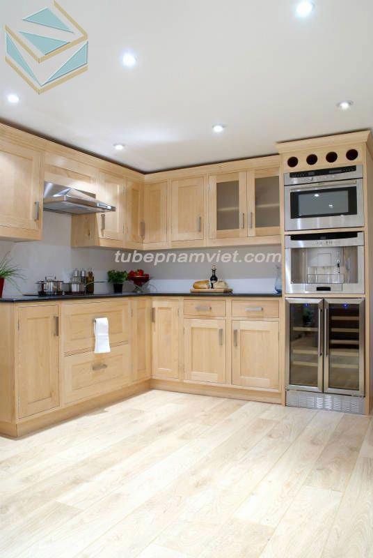 Kệ bếp gỗ tự nhiên Tần Bì AS-2012 giá tốt tận xưởng TPHCM