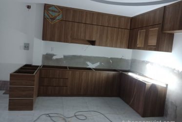 Nhận làm tủ bếp gỗ công nghiệp tại quận 12 TPHCM giá hợp lý tận gốc