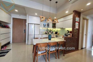 Đơn vị nhận thi công tủ bếp gỗ công nghiệp cho căn hộ Richstar Tân Phú