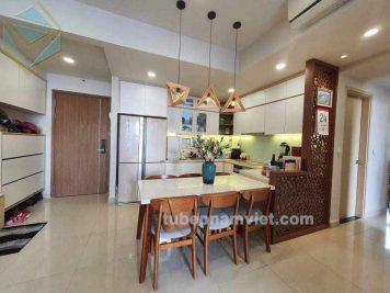 Đơn vị nhận thi công tủ bếp gỗ công nghiệp cho căn hộ chung cư Richstar Tân Phú