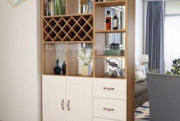 Mẫu tủ rượu đẹp dành cho chung cư giá tốt tận xưởng tại TPHCM
