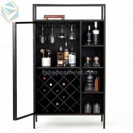 Chuyên thi công tủ rượu gỗ đẹp giá tốt mẫu đa dạng
