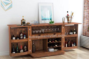 Mẫu tủ rượu tân cổ điển đẹp