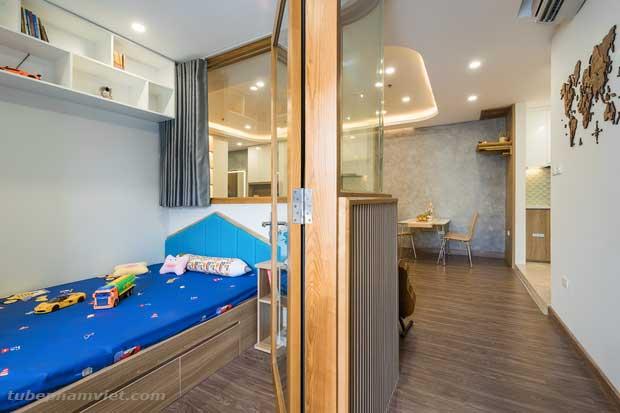 nội thất khu vực phòng ngủ dành cho bé