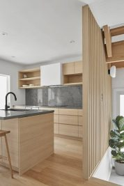 Tủ bếp gỗ đep